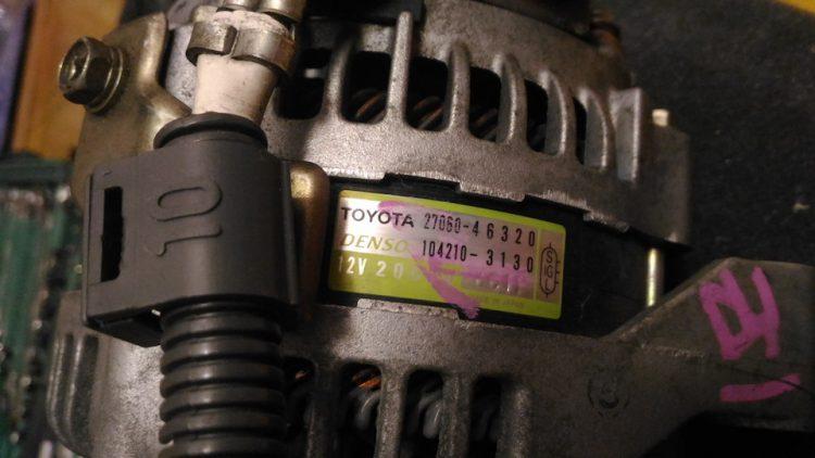 Генератор двигателя 1JZ
